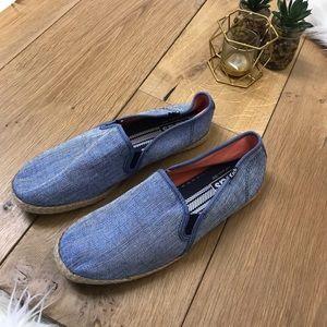 Keds Blue Espadrille Canvas Shoes